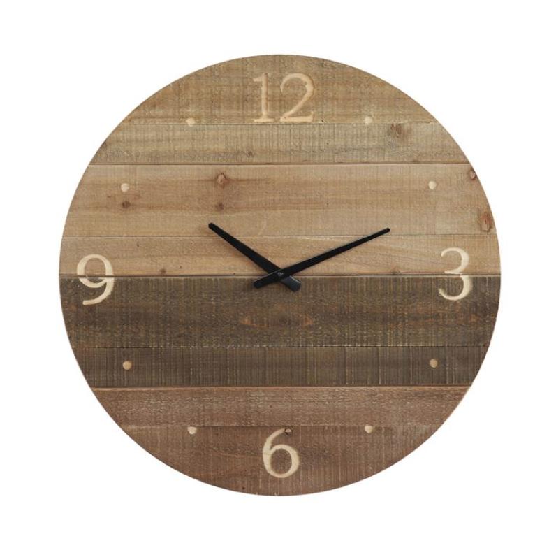 Laser Cut Wood Clock