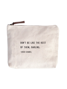 Sugarboo & Co. Coco Chanel - Canvas Bag