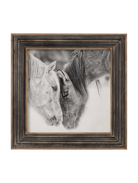 Uttermost Black and White Horses