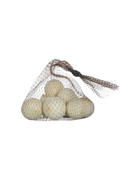 Natural Dried Gourds in Mesh