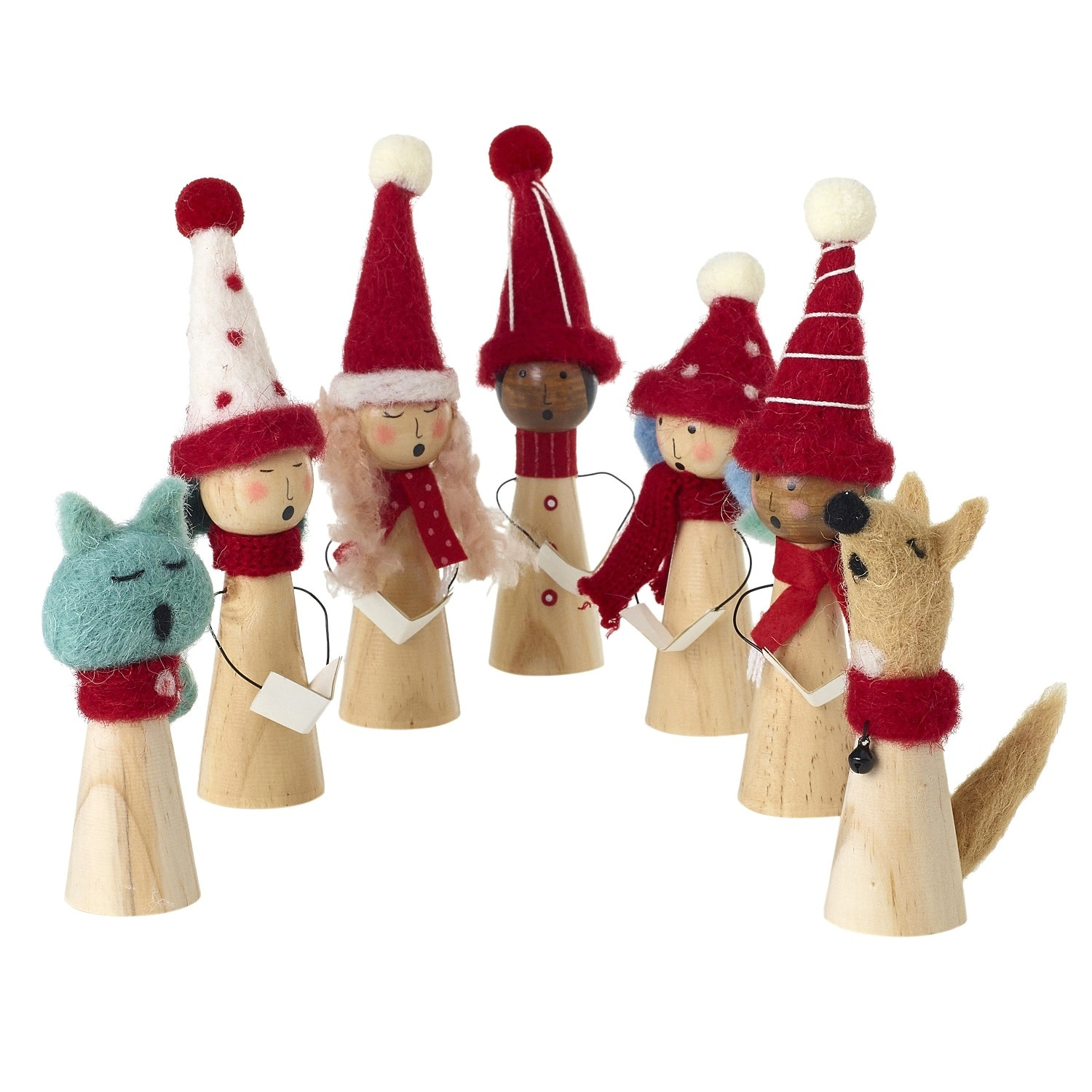 Accent Decor Carolers