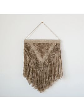 Hand-Made Wool & Cotton Wall Hanging