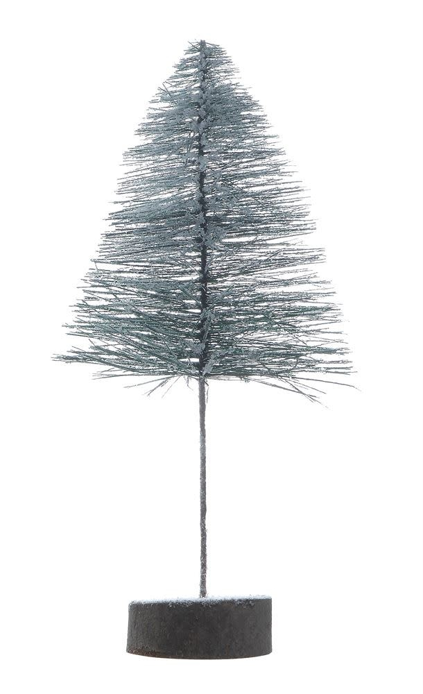 Plastic Bottle Brush Tree