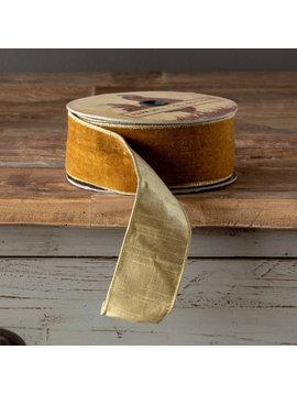 Golden Velvet Ribbon