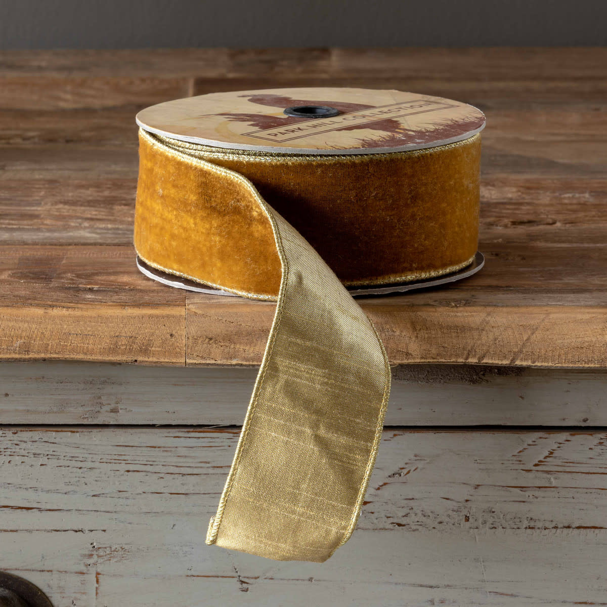 Golden Velvet Ribbon