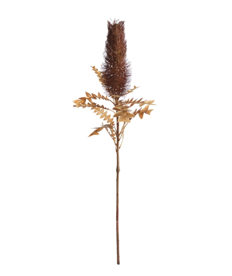 """Cone Protea 33"""" Plum"""
