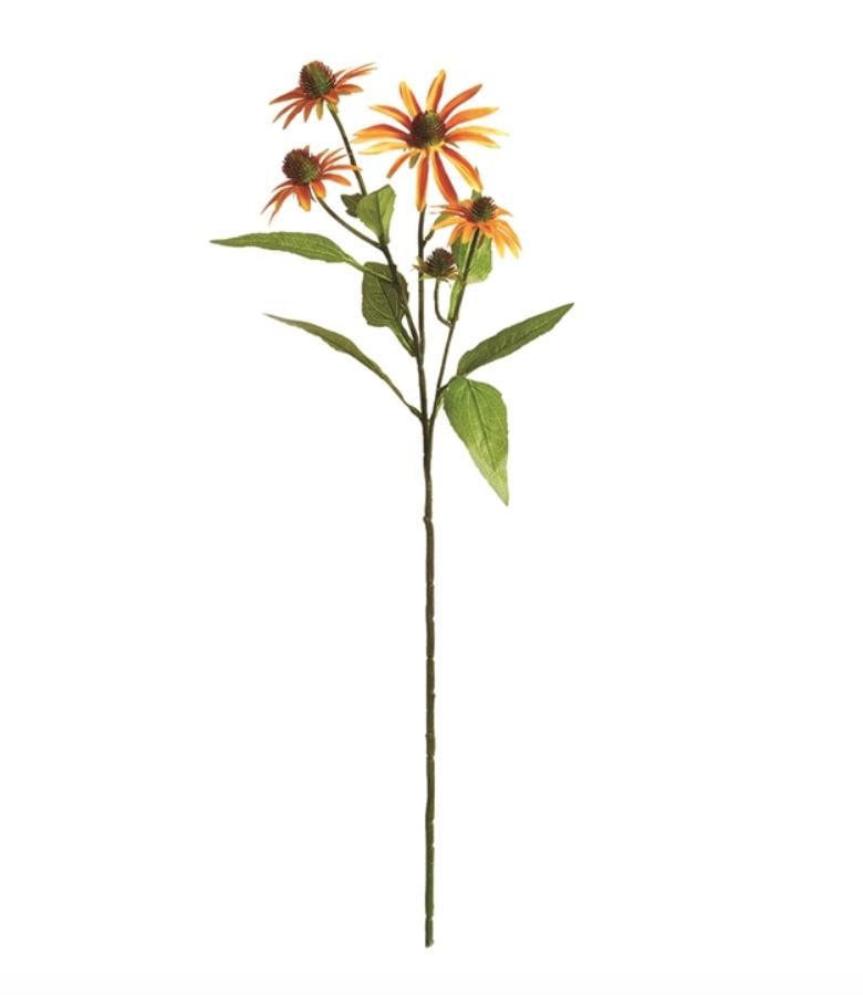 """Echinacea Stem 29"""" Gold"""