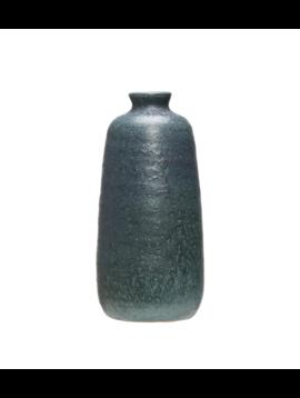 Blue Terra Cotta Vase