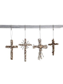 Metal Wire Cross