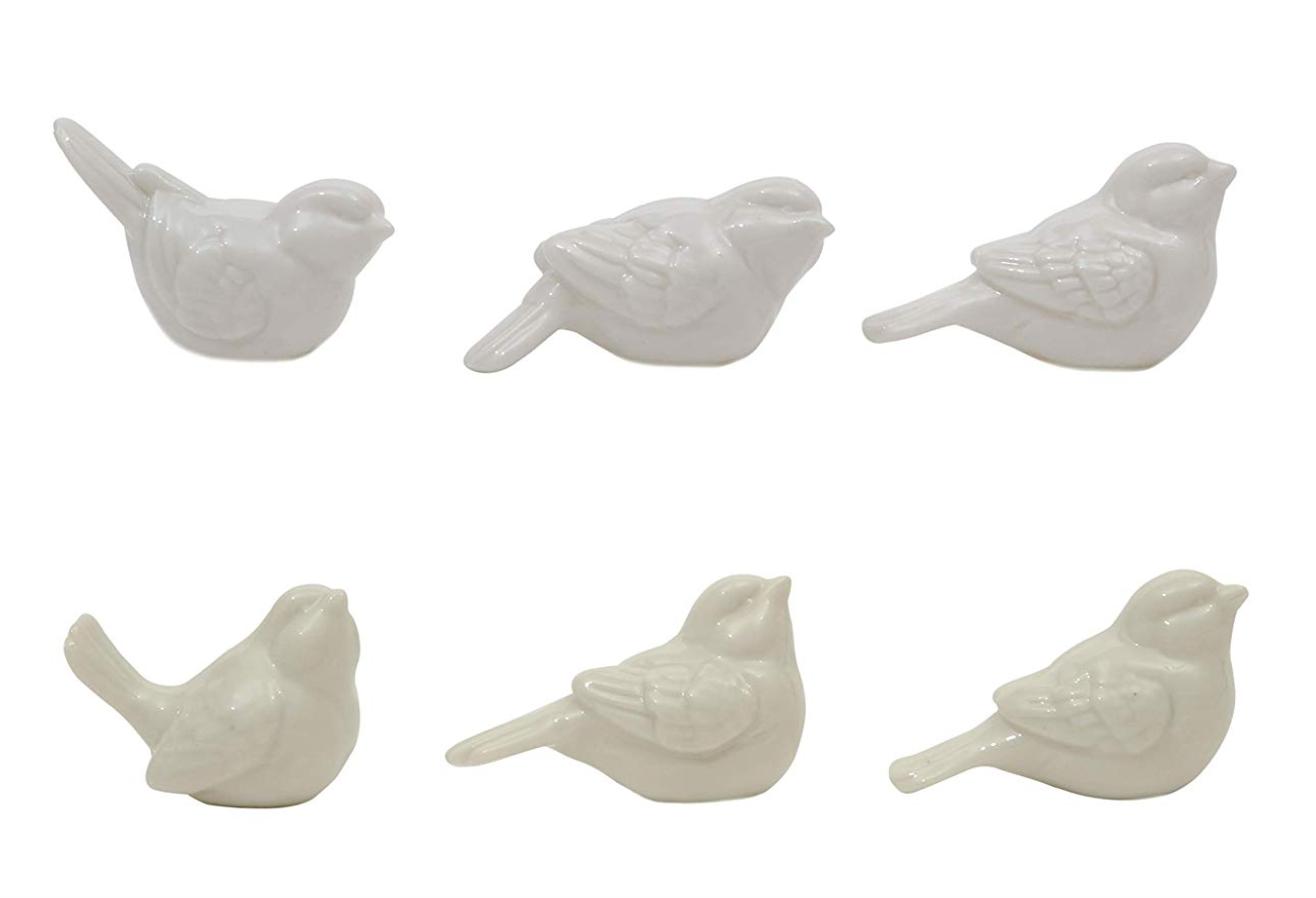 Ceramic Birds Set of 6