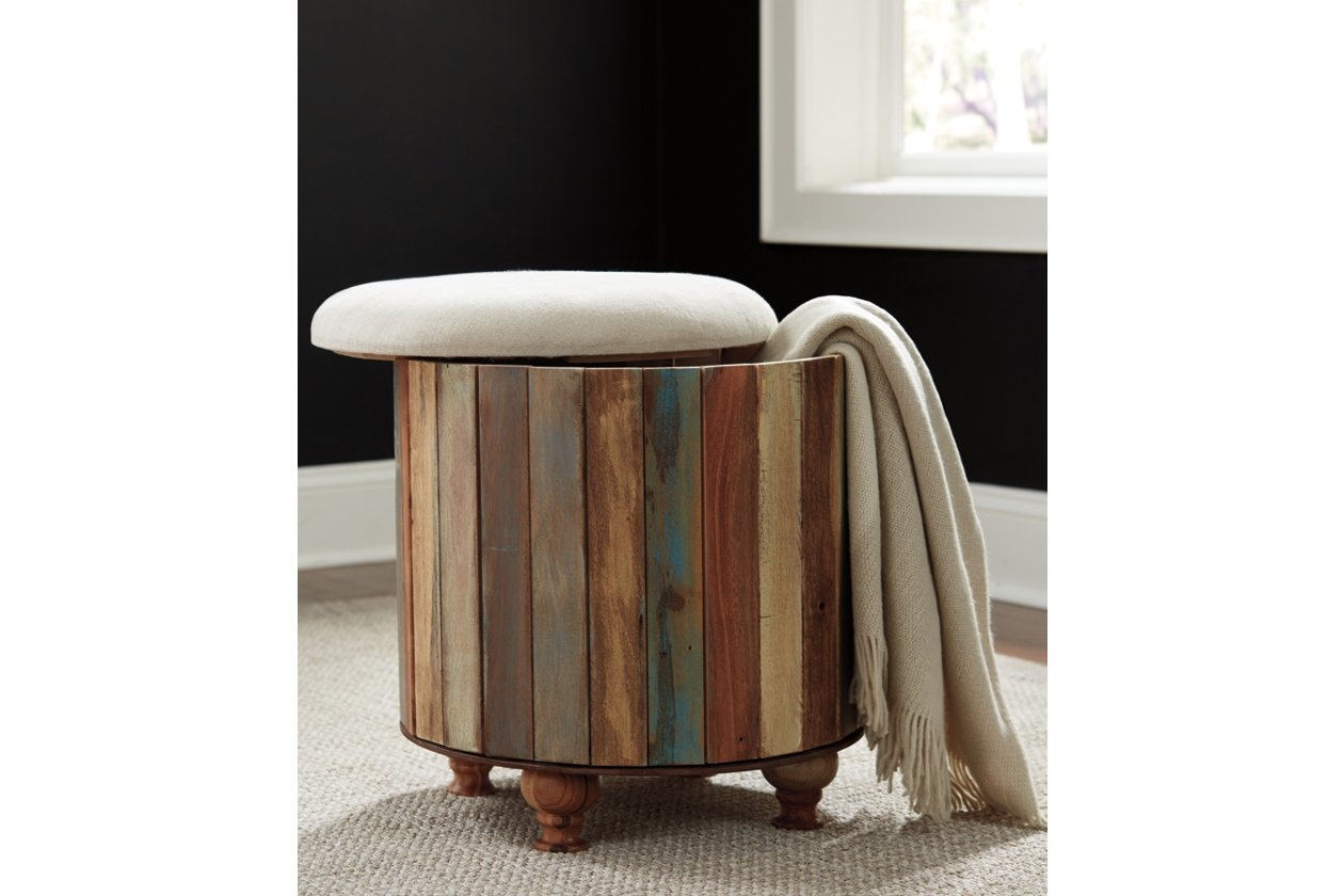 Ashley Home Furniture Oristano Storage Ottoman