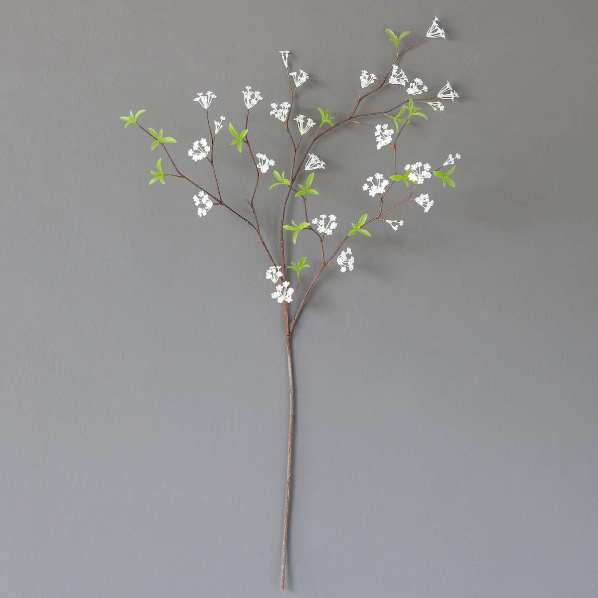 Crafted Bridal Wreath Spirea Stem