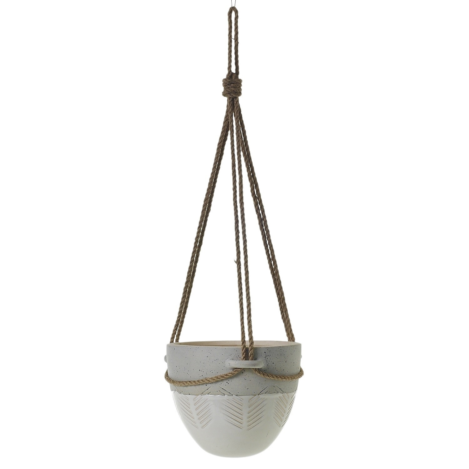 "Accent Decor Hammock Hanging Pot 9.5"" x 8.75"""