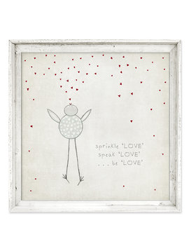 Sweet Gumball Sprinkle Love Wall Art