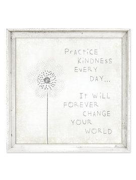 Sweet Gumball Practice Kindness Wall Art