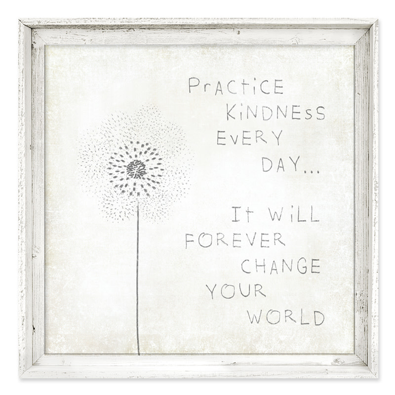 Sweet Gumball Practice Kindness Wall Art