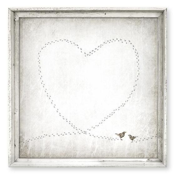 Sweet Gumball Lovebirds Wall Art