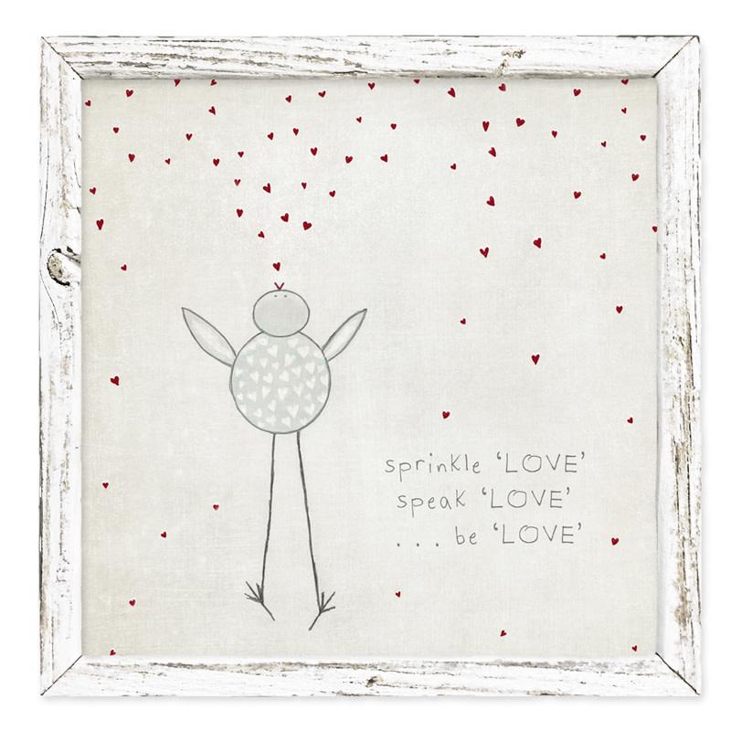 Sweet Gumball Sprinkle Love Shelf Art