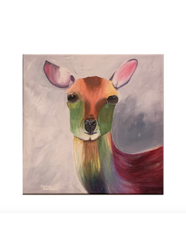Carolyn Marshall Rainbow Deer