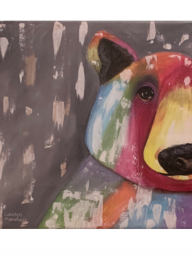 Carolyn Marshall Rainbow Bear