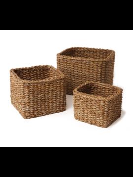 Seagrass Mini Square Basket