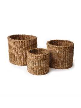 Seagrass Mini Round Basket