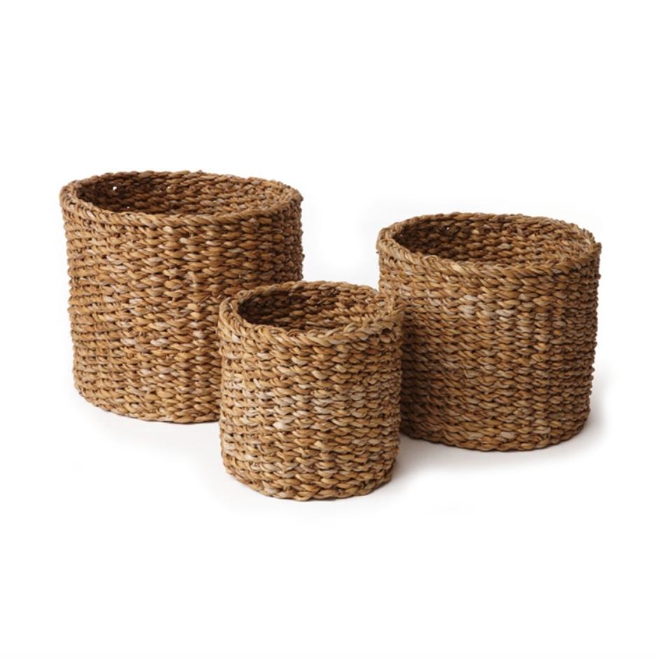 Seagrass Mini Round Basket