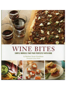 Chronicle Books Wine Bites Book