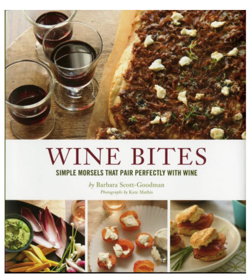 Chronicle Books Wine Bites Book