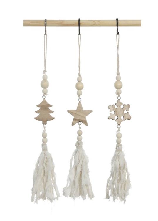 Paulownia Wood Ornament