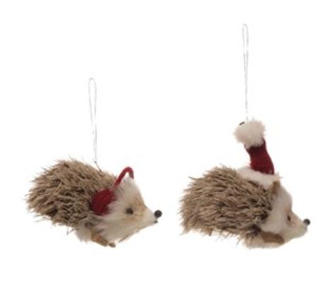 Faux Fur Hedgehog