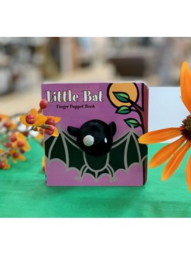 Hachette Books Little Bat Finger Puppet Book