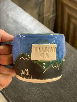 Hazel Moon Ellijay Hazel Moon Pottery Mountain Mug