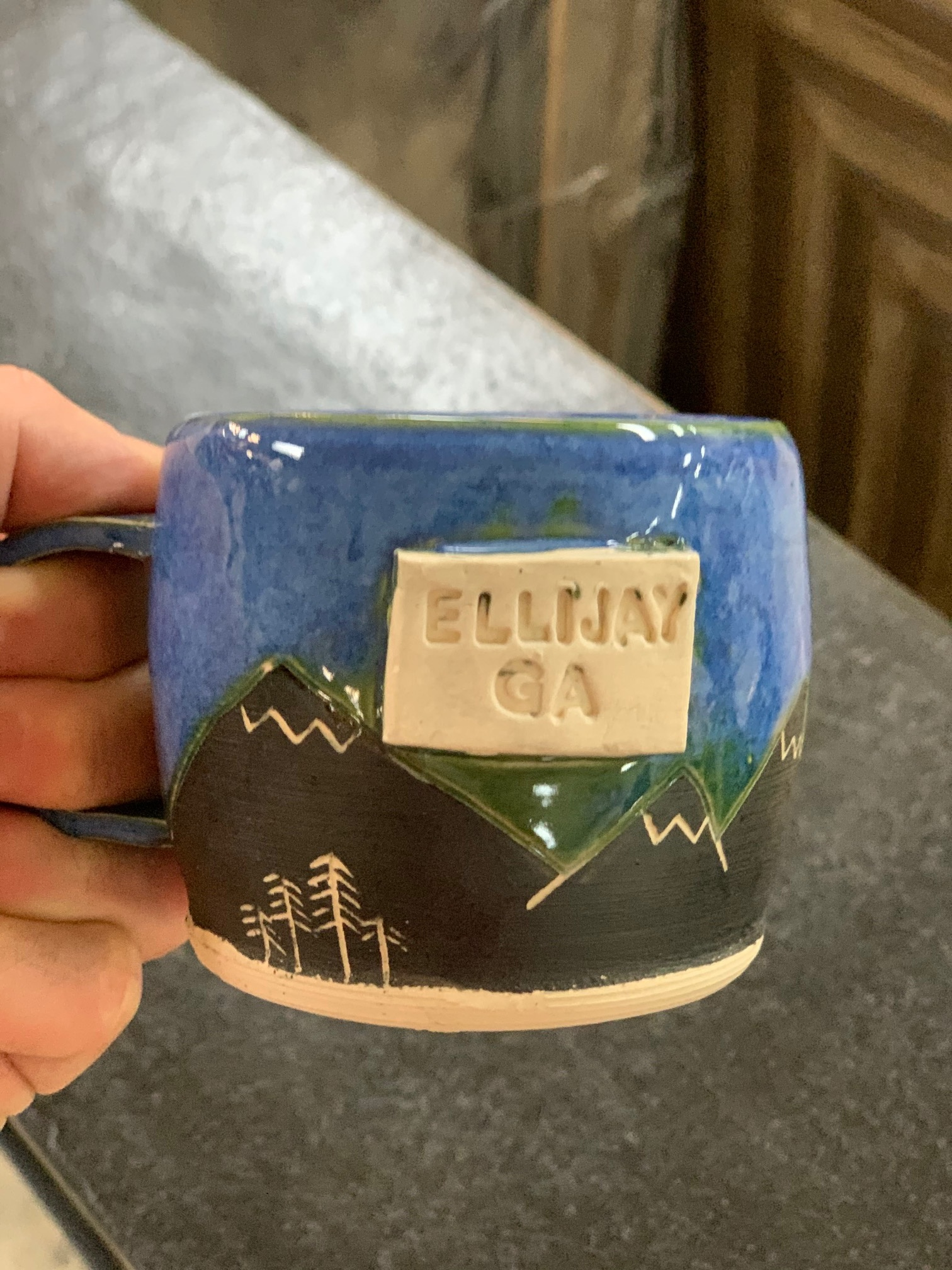 Hazel Moon Ellijay Hazel Moon Pottery Mountain Mug