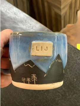 Hazel Moon LIJ Hazel Moon  Pottery Mountain Mug