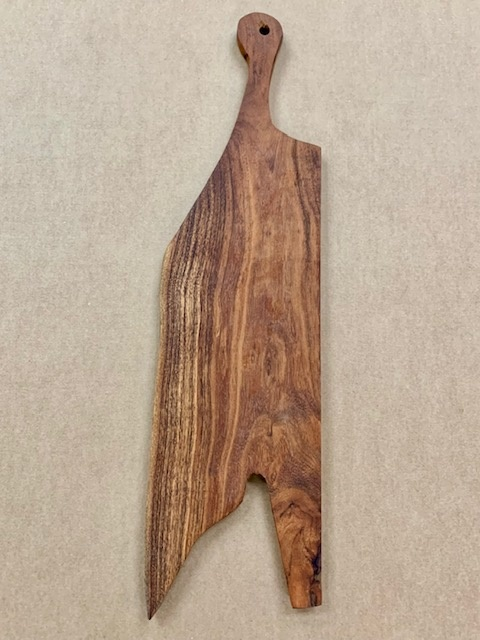"Wood Cutting Board 23"" X 8"" Natural"
