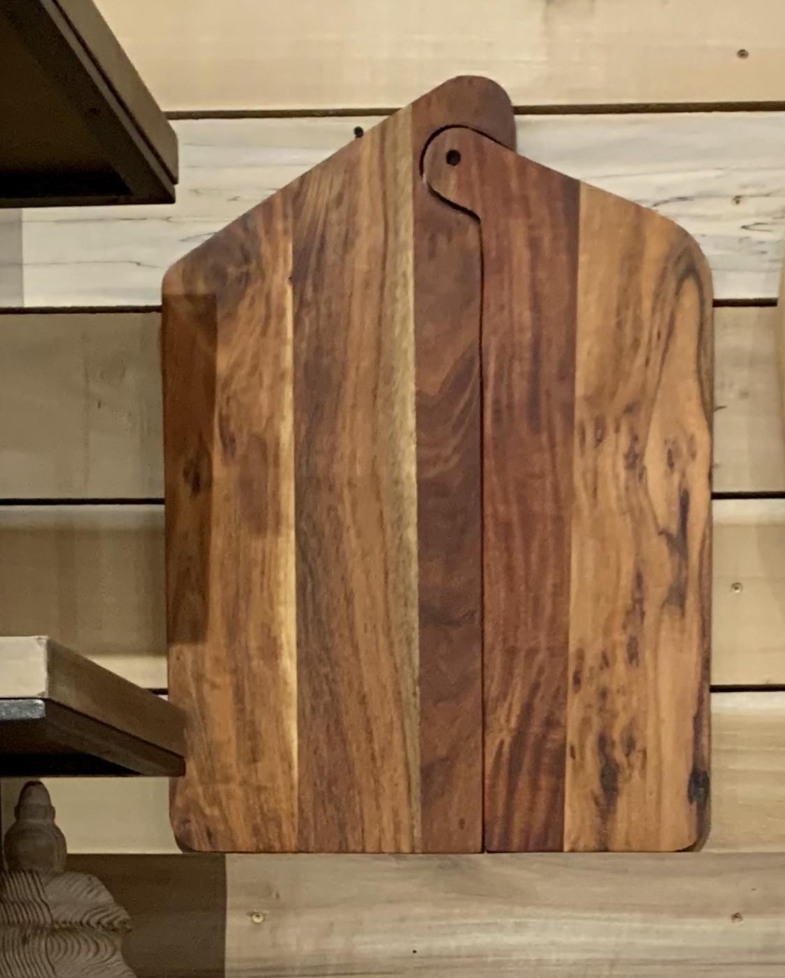 "Wood Interlocking Cutting Board 23""X 17"" 2pc."