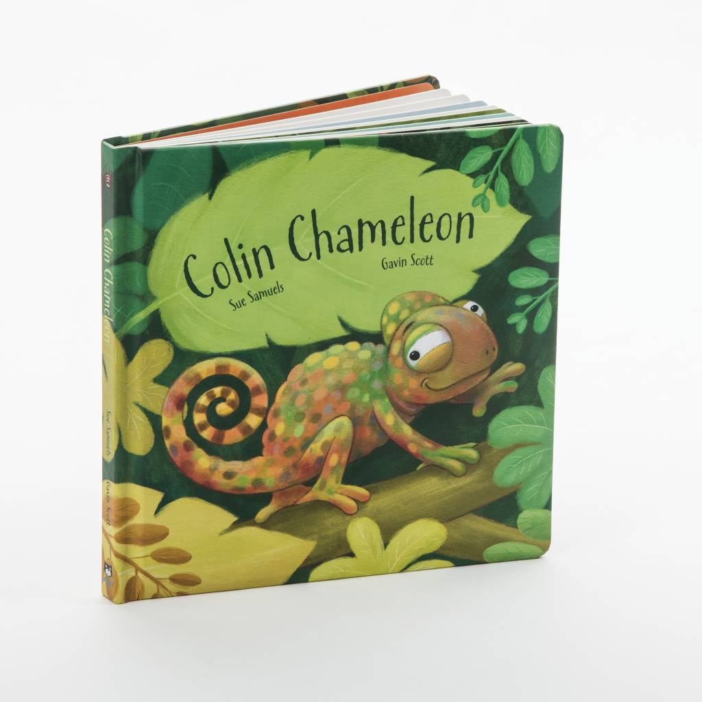 Colin Chamelelon Book