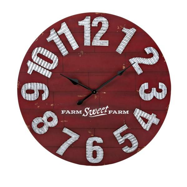 Berry Patch Wall Clock