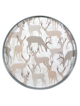Winter Stags Coco Tray
