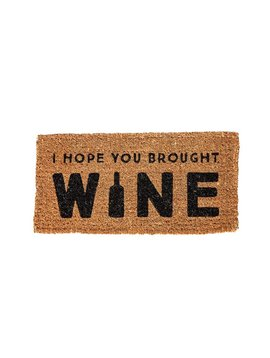 Wine Welcome Doormat