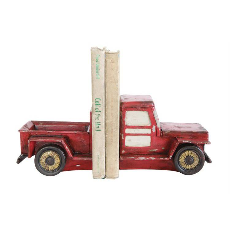 Resin Truck Bookends