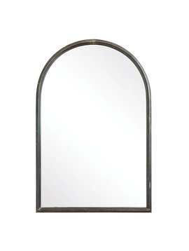 Arched Mirror with Metal