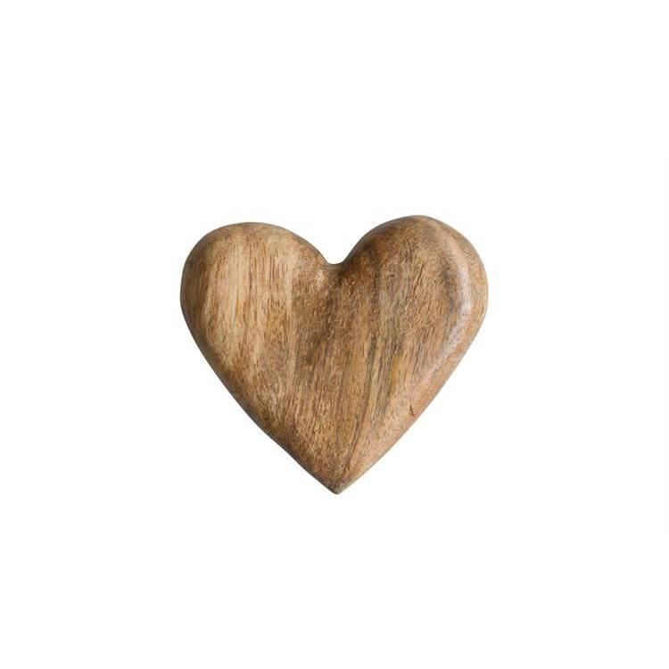 Mango Wood Heart