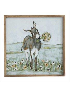 Donkey Canvas Wall Art