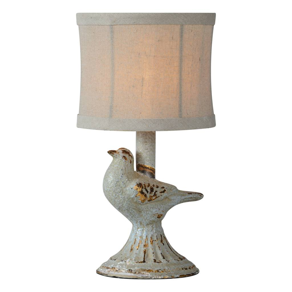 Robin Table Lamp - Blue & Gold