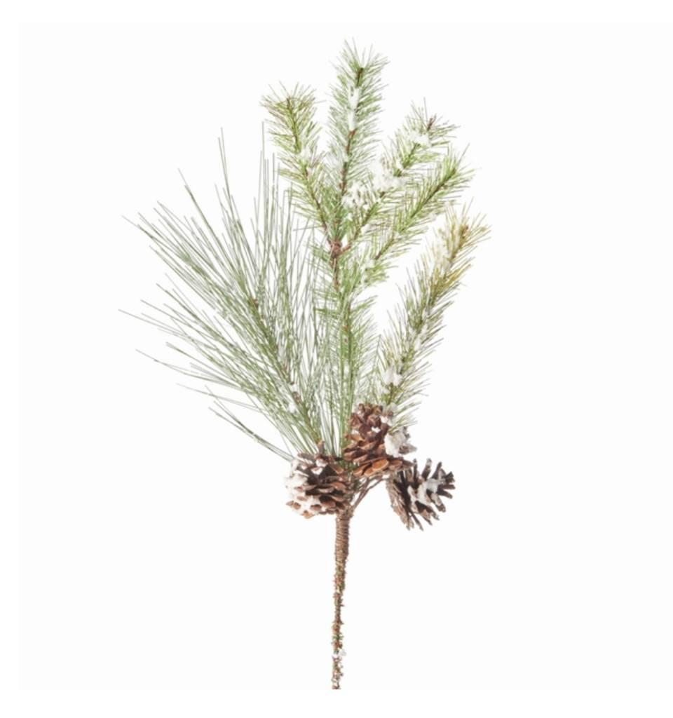 Snowy Pine Pick