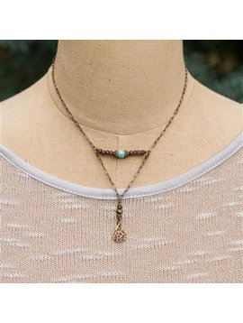 Petite Balance Necklace