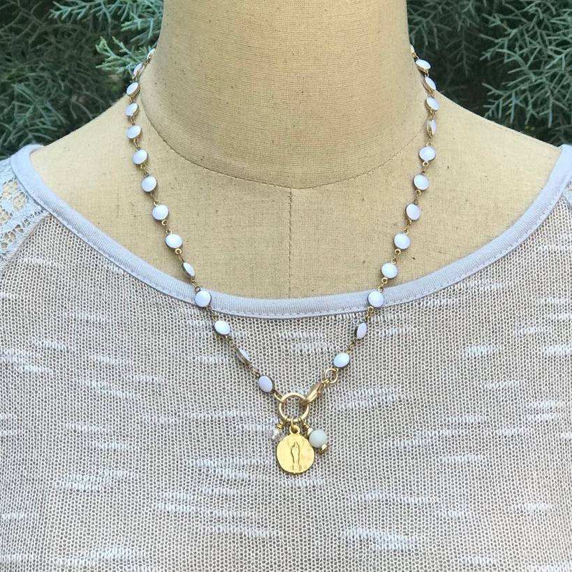 Pearly Gates Convertible Necklace/ Bracelet