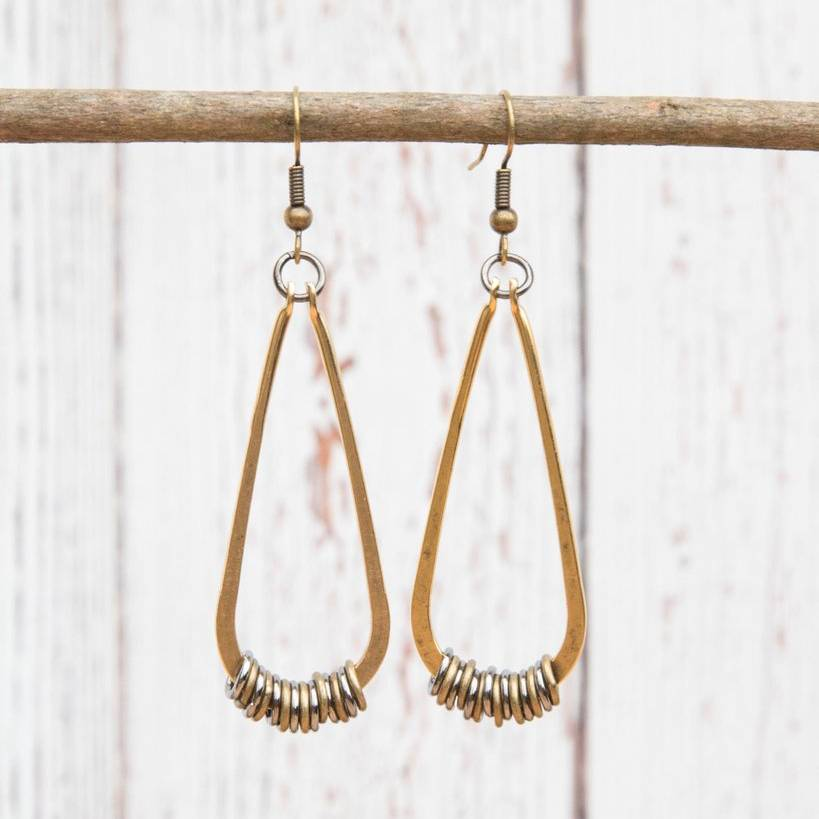 Get Lost Teardrop Earrings